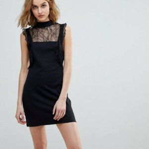 FREE PEOPLE Beaumont Muse Dress in Black - S